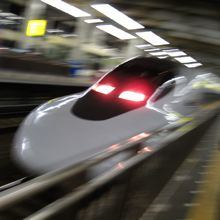 Japanese Shinkansen bullet train