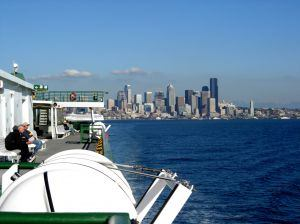 Seattle ferry boat