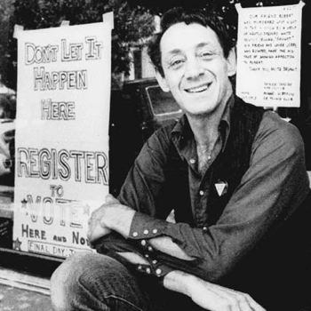 Harvey Milk, gay rights pioneer & elected member of the San Francisco Board of Supervisors