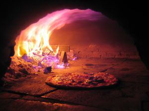 pizza cooking oven