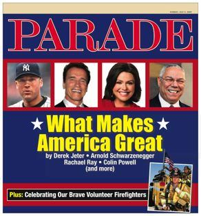 Parade Firefighters Cover