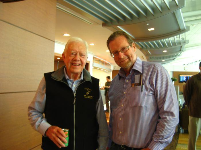 Where in the World is Peter Greenberg? Crossing Paths with Jimmy Carter