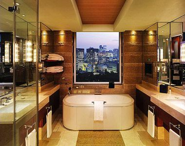 The most spectacular and surprising hotel bathrooms for Best bathroom designs in the world