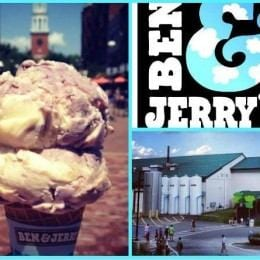 Daily Scoop: Ben & Jerry's Ice Cream Factory in Waterbury, VT